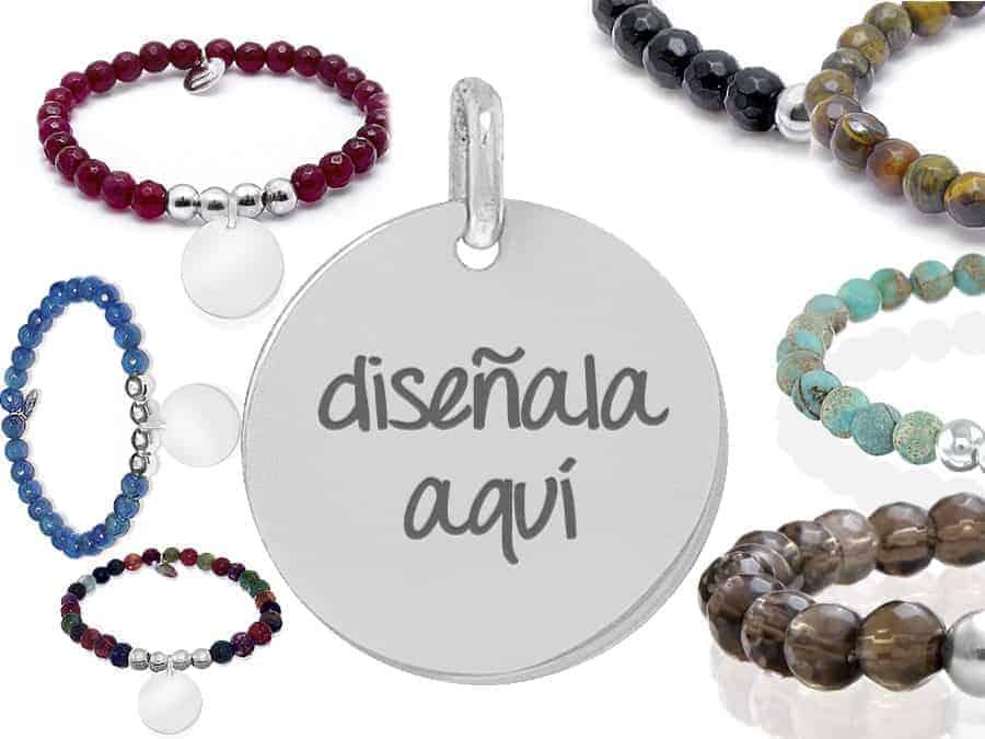 0b44aeb40a41 Pulsera piedra natural crea tu joya  Regalos personalizados para mujer
