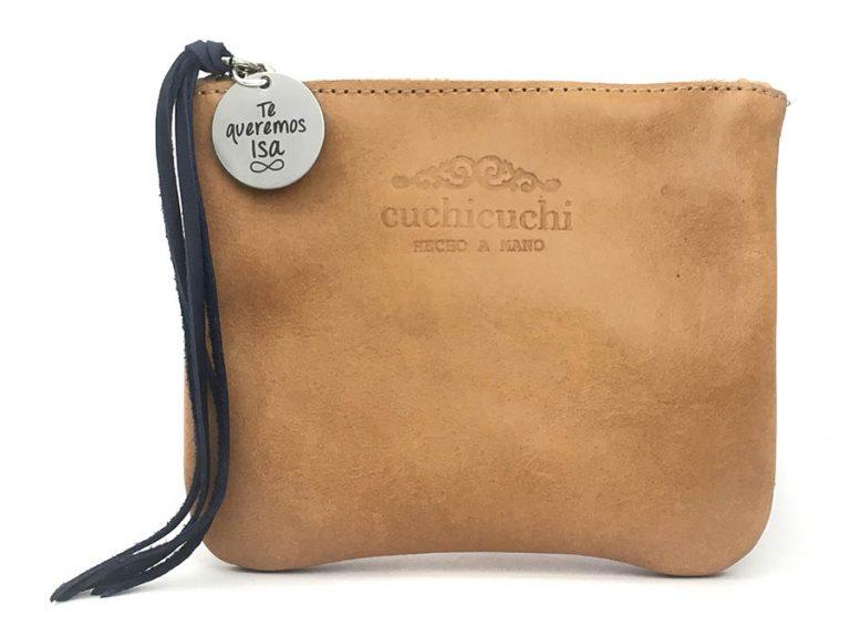 bolso piel regalo personalizado