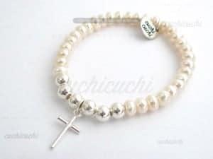 pulseras comunion de perlas para regalar niña
