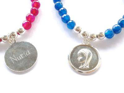 Medallas religiosas personalizadas - Cuchicuchi Bisuteria
