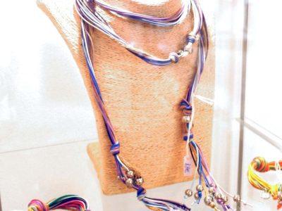 Collar cinturon multicolor cordones COSTABLANCA