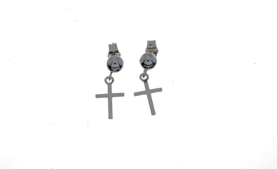 82bca93aa596 Pendientes Cruz plata - Cuchicuchi Regalos personalizados y joyas