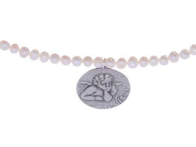 Gargantilla perlas Angelote