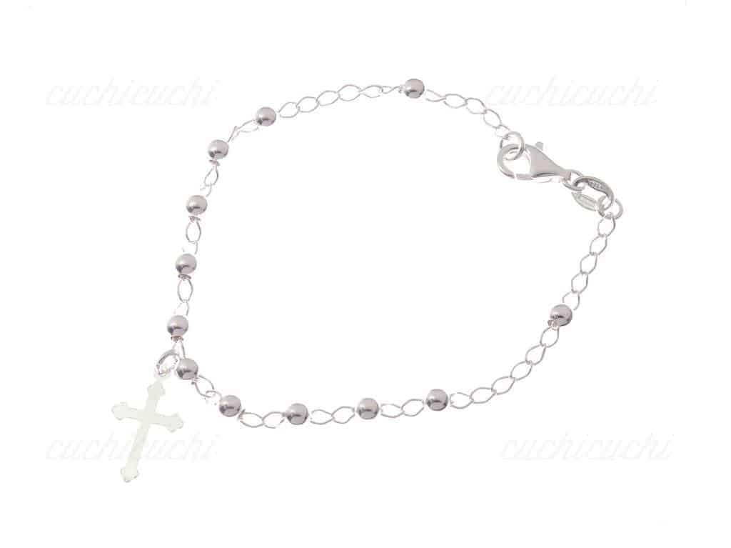 Pulsera rosario de plata de ley cuchicuchi regalos - Como limpiar un rosario de plata ...