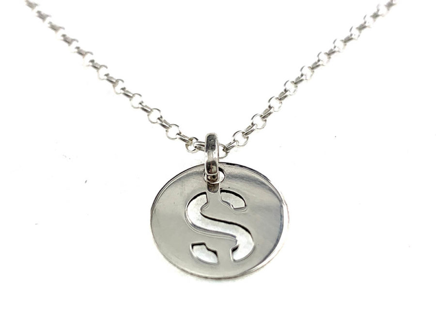 collar iniciales letras