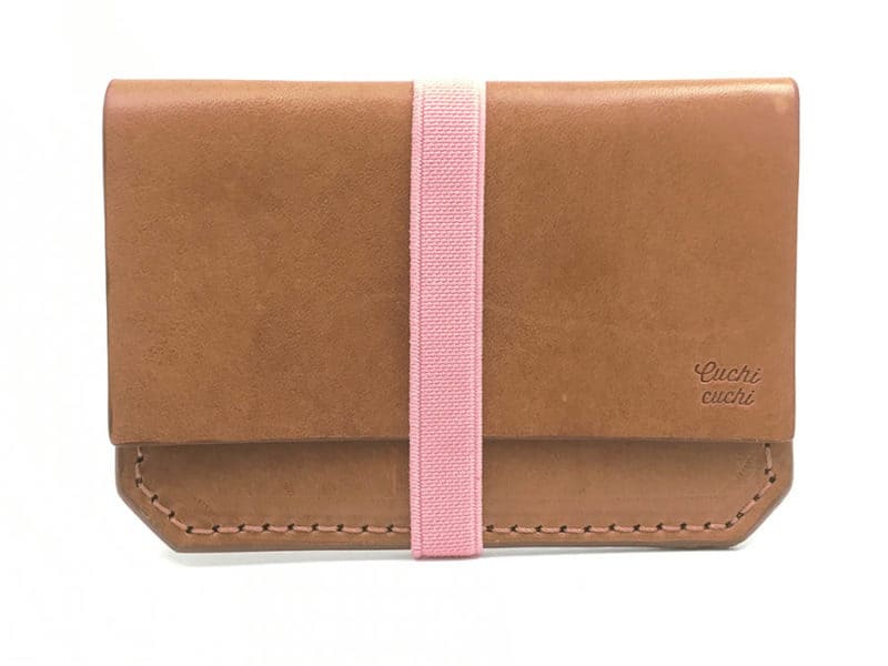 cartera personalizada para mujer rosa