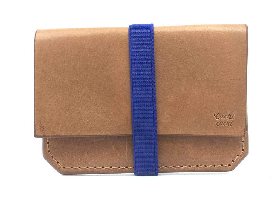 cartera billetero personalizado azul