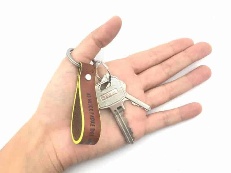 llavero llaves de casa
