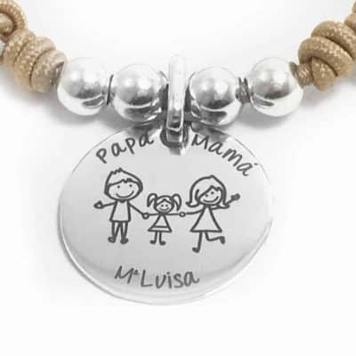 pulsera regalo para mama familia