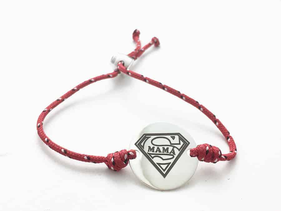 pulsera supermama personalizada