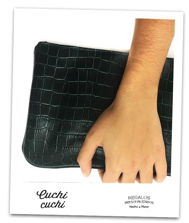 bolso de mano personalizados de piel