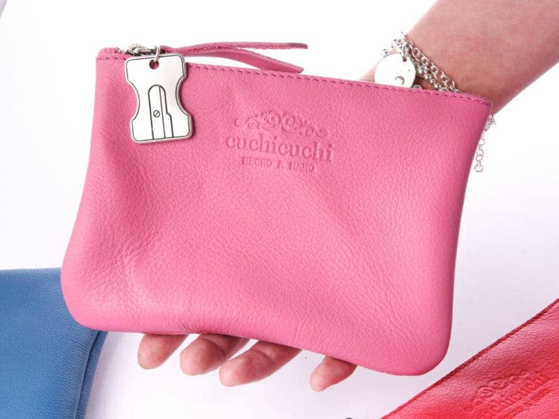 bolso regalo profe personalizado rosa