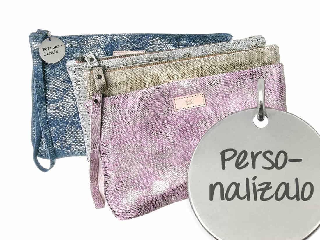 bolso personalizado piel natural