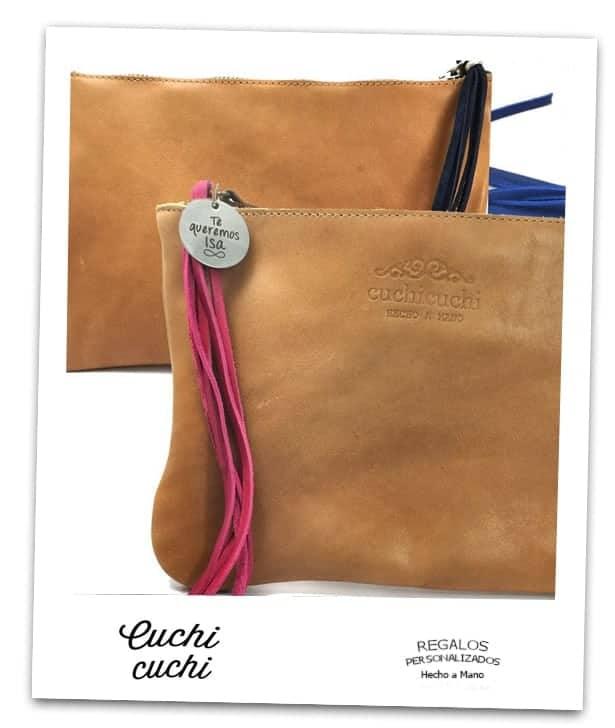 bolsos personalizados iniciales piel