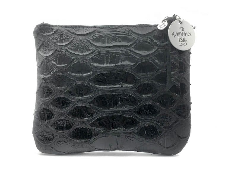 clutch personalizable negro