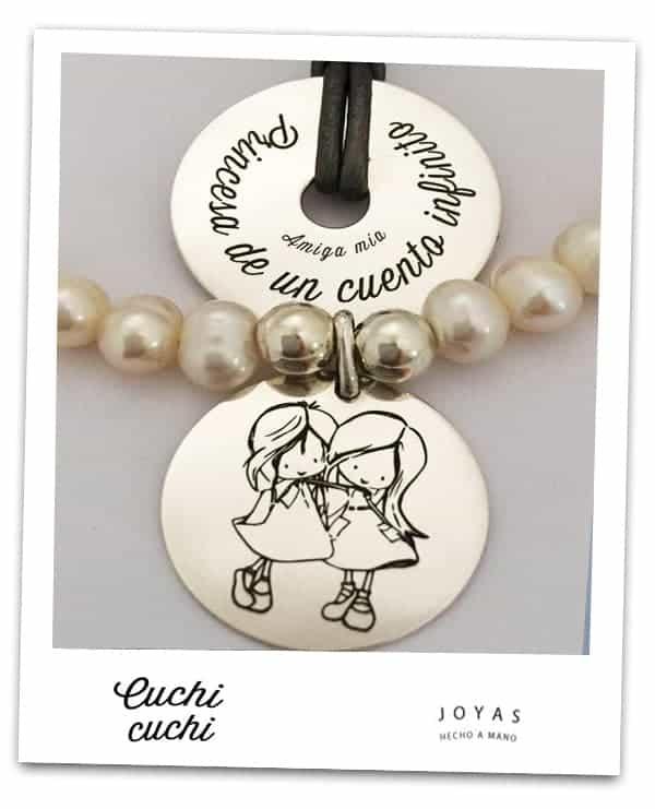 8a5402b32451 Chapas y colgantes personalizados para pulseras y collares Cuchi Cuchi