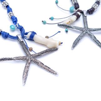 collar estrella de mar colores