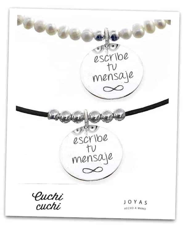 c63010378de4 Regalos para quinceañera: Joyas personalizadas - Cuchicuchi Bisuteria