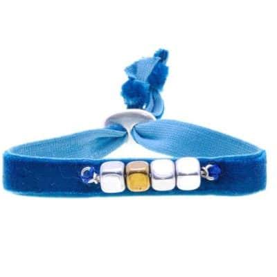 Pulsera cubo azul