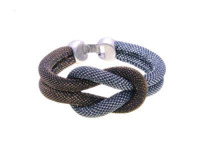 Pulsera snake cobre plata