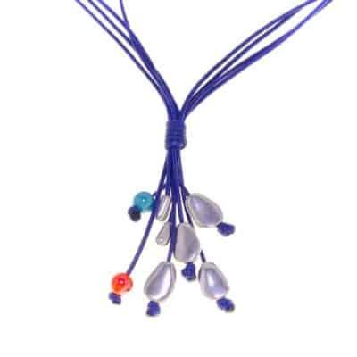 Collar Galapago azul