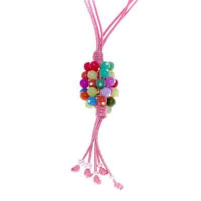 Collar Arrecife rosa
