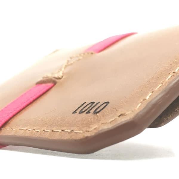 carteras con nombre personalizadas rosa