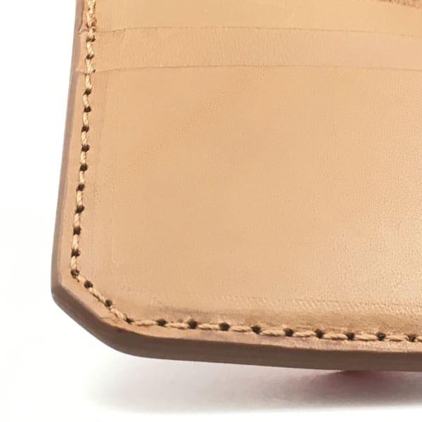 cartera con nombre personalizada piel