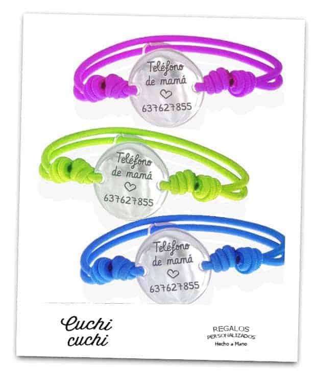 donde comprar pulseras identificativas para niños