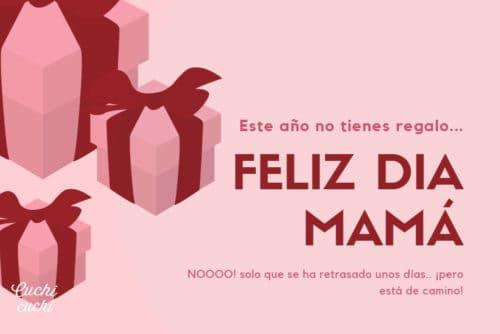 Felicitación día de la madre