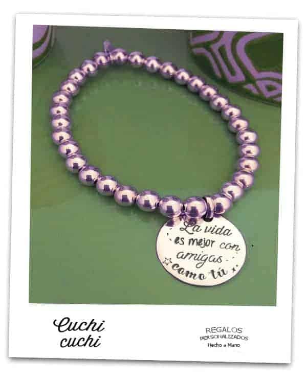 563f1d7feb44 grabar tus propias pulseras de amiga joyas personalizadas baratas famosas