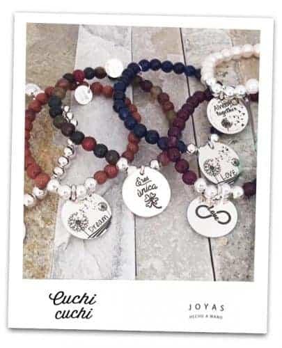 pulseras de plata para amigas