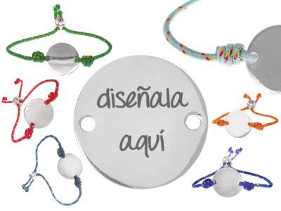 joyas denia regalo personalizado pulseras colgante grabado