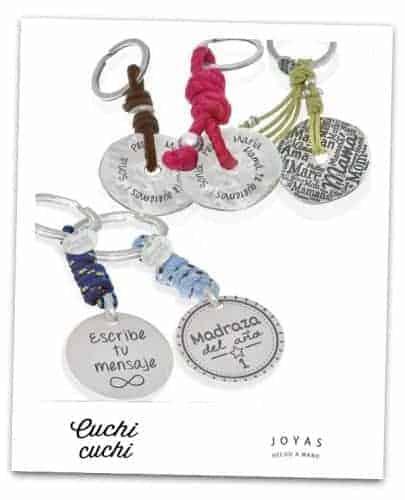 joyeria personalizada donde comprar llaveros escribe tu mensaje