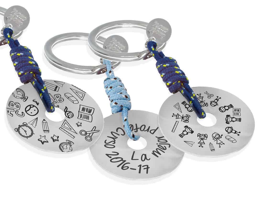 eb1e8a4f298c Regalos para profesores  llaveros personalizados de plata de ley