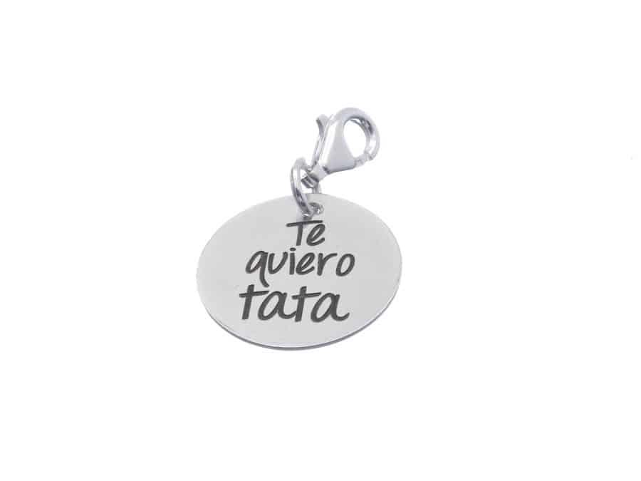 3825a67d831d Medalla plata de ley grabada para colgar - Cuchicuchi Regalos ...