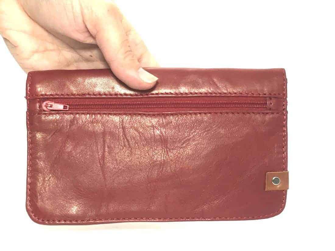 cartera personalizada piel regalos cuchicuchi