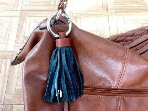 bolso con cargador iphone mujer