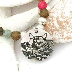 pulsera personalizada foto gatitos