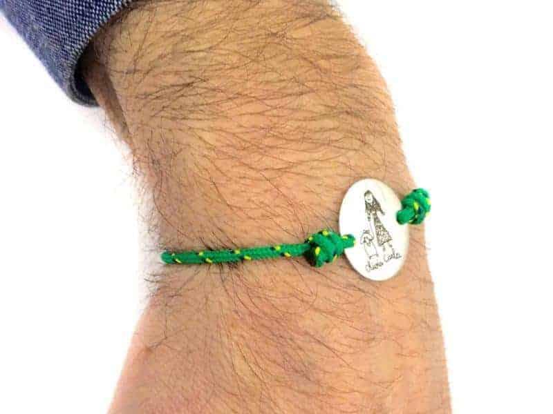 pulsera hombre con foto hija regalo personalizado