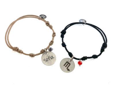 pulseras pulseras horóscopos personalizadas