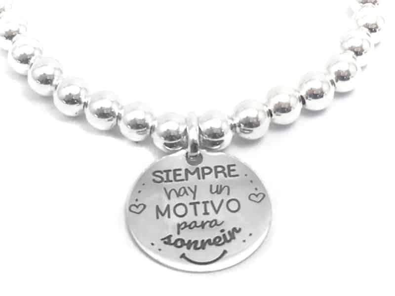 siempre hay un motivo para sonreir regalo personalizado