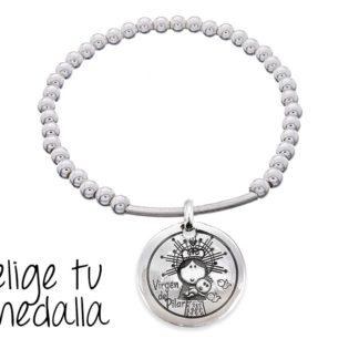 1c46e19ee401 Virgen de plata de ley personalizada - Cuchicuchi Regalos ...