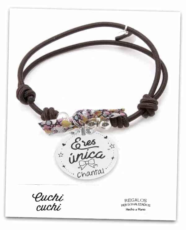 34914430cffe Lo que tú quieras. pulseras con nombre niños regalos personalizados  identificacion