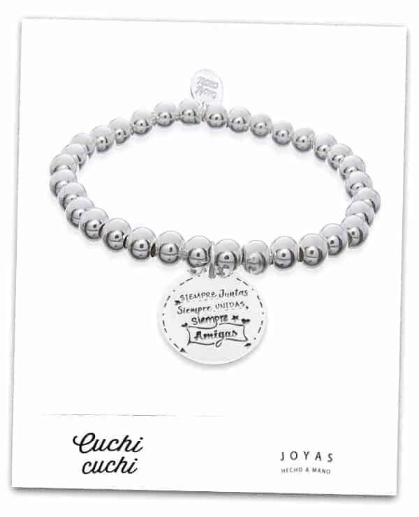 pulseras de plata personalizadas para regalo joyas