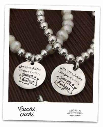 pulseras iguales para amigas a juego amistad personalizadas