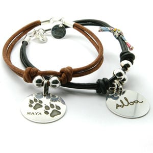 regalo personalizado huella nombre perro