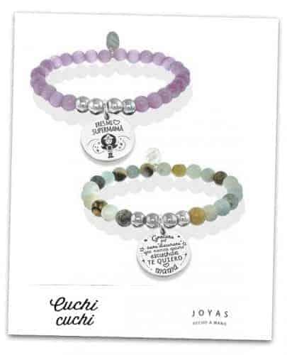 pulseras personalizadas para regalo madres online cuchicuchi