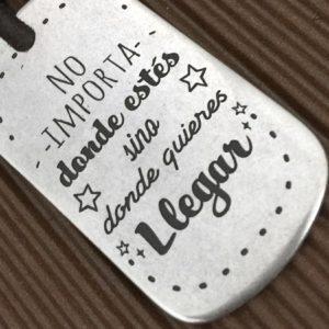 llaveros mensajes positivos regalo personalizado