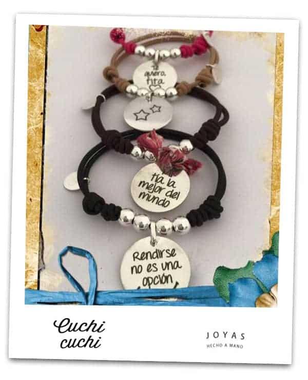 026a683caf08 Regalos personalizados en plata  Graba tus joyas online con el mensaje que  quieras…